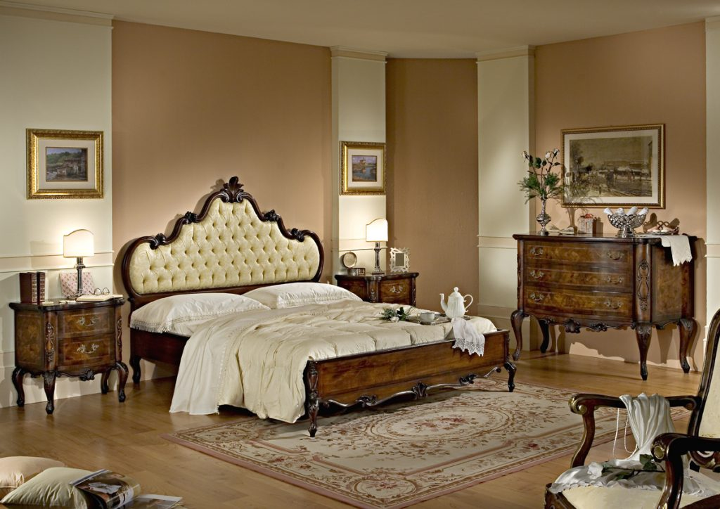 "The ""Baroque"" bedroom ""Treccia"""
