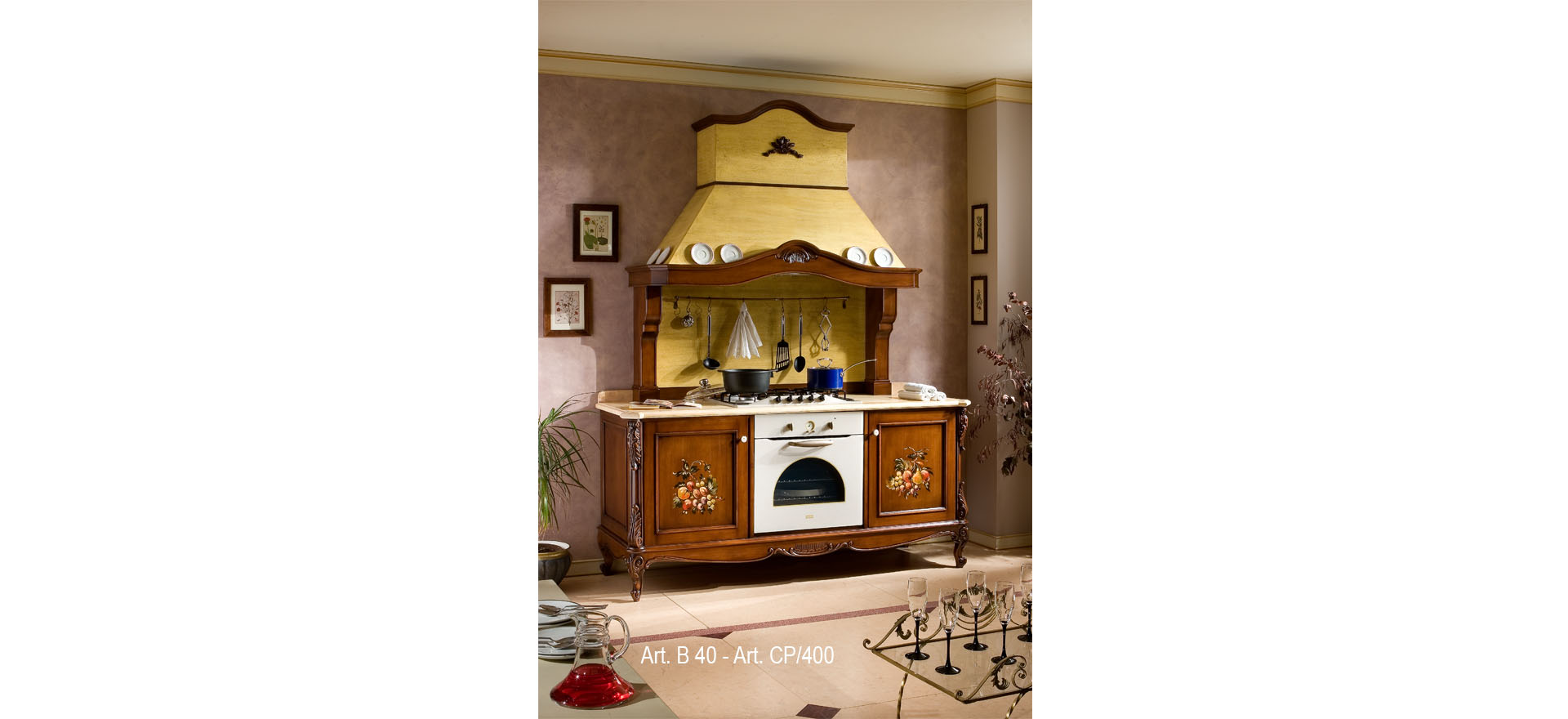 cucina decorata 5-art-